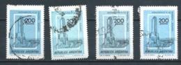 ARGENTINA 1979 (O) USADOS MI-1394 YT-1168 MONUMENTO A LA BANDERA. ROSARIO - Oblitérés