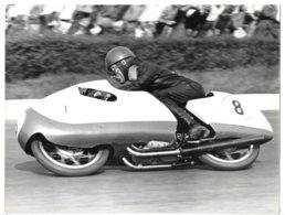 Photo...24 X 18 Cm ...moto Gilera...pilote Romolo Ferri... - Sport