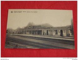 MENEN  -  MENIN  - Binnenzicht Van Het Station  -  Intérieur De La Station - Ruines  1914-18    - - Menen