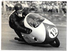 Photo...24 X 18 Cm ...moto Gilera...pilote A.Milani... - Sport