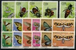 Cuba Nº 1507/11, 2121/26. Año 1971 - Cuba