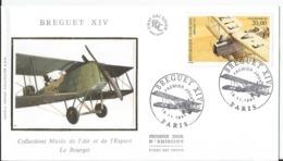 Enveloppe   -  Premier Jour - FDC -Bréguet 1997 - Aviation - 1990-1999