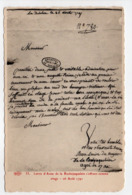 - CPA HISTOIRE - Lettre D'Anne De La Rochejaquelein - Edition Le Deley N° 33 - - Histoire
