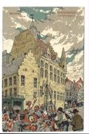 Alfred Ost - Mechelen - Archievenhuis - Liedjeszangers. - Mechelen