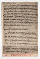 - CPA HISTOIRE - Lettre D'Olympe De Couges 1792 - Edition Le Deley N° 35 - - Histoire