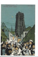 Alfred Ost - Mechelen - Beiaardconcert - Straatje Zonder Einde. - Mechelen