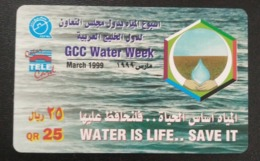 Qatar Telephone Card Unused Not Scratched - Qatar
