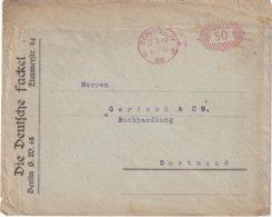 ALLEMAGNE 1922 LETTRE  EMA DE BERLIN - Poststempel - Freistempel