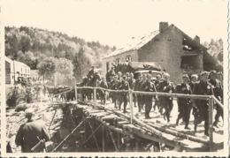 Orig Photo All WW2 : GEBIRSJÄGERS  MARNE . 1940 . Campagne De France. 1940 - 1939-45
