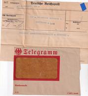 ALLEMAGNE 1932 TELEGRAMM/TELEGRAMME DE DORTMUND - Deutschland
