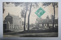 80 : Chaulnes - Bout De L'Avenue Ste Anne ( Vue Assez Rare ) - Chaulnes