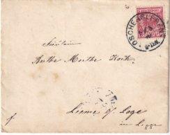 ALLEMAGNE 1890 LETTRE DE OSCHERSLFREN - Cartas