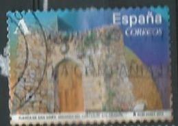 SPAIN ESPAÑA 2014 FROM CARNET ARCHS & DOORS: San Ginés Miranda Castañar 0.38€ USED € SC 3954c ED 4840 YV 4544 - 1931-Heute: 2. Rep. - ... Juan Carlos I