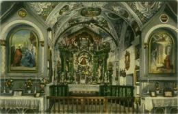 INNERES DER KIRCHE HEILIGE DREI BRUNNEN BEI TRAFOI AM ORTLER TIROL - EDIT HOH. F. AMONN - BOZEN - 1910s  (BG4697) - Bolzano (Bozen)