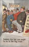 """""""Donald McGill. Lummy, Gov'ner, You Ought To Be,,"""" Inter-Art Comique Ser. PC # 1668 - Mc Gill, Donald"""