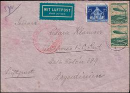 Deutsche Luftpost Europa-Südamerika Lp-Brief MÜNCHEN 11.8.1936 Nach Argentinien - Ohne Zuordnung