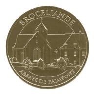Monnaie De Paris , 2017 , Paimpont , Brocéliande , Abbaye De Paimpont - Monnaie De Paris