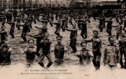 NOS FIDELES ALLIES RUSSES EN CAMPAGNE - 22 - Exercices De Gymnastique Exécutés Par L'Infanterie - Nantes