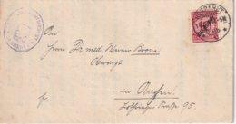 ALLEMAGNE 1924 LETTRE DE HERRNHUT - Deutschland