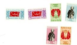 Yemen Kingdom 1965-Symboles,épée,armoirie,Imam-MI 159/65***MNH - Yemen