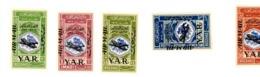 Yemen YAR 1963-Révolution, Surcharge -MI 305/9***MNH - Yemen