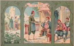 **** PUBLICITE  ***  Le Café Arabe PUB Chicorée LEROUX  Neuve Excellent état - Werbepostkarten