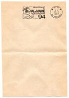 VAL De MARNE - Dépt N° 94  FRESNES 1967 = FLAMME PP Codée = SECAP  ' N° De CODE POSTAL / PENSEZ-Y ' - Zipcode