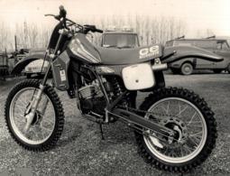 ACCOSSATO +-22cm X 15cm  Moto MOTOCROSS MOTORCYCLE Douglas J Jackson Archive Of Motorcycles - Foto