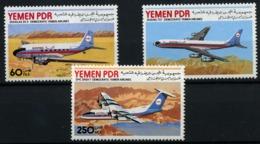 Yemen Del Sur Nº 247/49. Año 1981 - Yemen