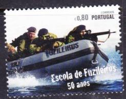 PORTUGAL 2011 ESCOLA DE FUZILEIROS 50 ANOS A SERVIR USED - 1910-... République