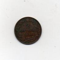 Italia - Regno - 1898 - Umberto I° - 2 Centesimi - R - Vedi Foto - (MW2600) - 1861-1946 : Regno