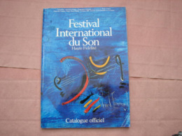 Catalogue FESTIVAL Du SON 1980  Expo Haute Fidélité   B.E. - Radio & TSF