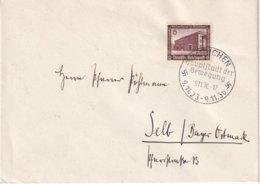 ALLEMAGNE 1937 LETTRE DE MÜNCHEN - Germany