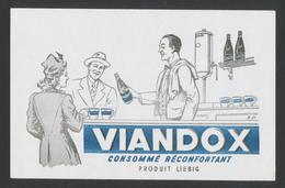 Buvard  -  VIANDOX - PRODUIT LIEBIG - Sopas & Salsas