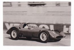 "AUTOMOBILE - "" LANCIA FERRARI 625 (EX D50) "" - Pilota Eugenio Castellotti - CAR - Riproduzioni"