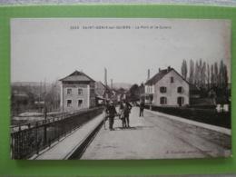 CPA De SAINT-GENIX-sur-GUIERS - Le Pont Et Le Guiers, N° 2253 - France