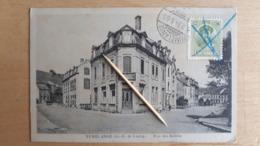 RUMELANGE - Rue Des Jardins 1924 - Cartoline