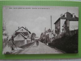 CPA De SAINT-GENIX-sur-GUIERS - Quartier De La Gendarmerie, N° 2245 - France