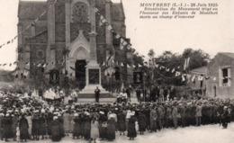 MONTBERT (L.-I.) - 28 Juin 1925 - Bénédiction Du Monument... - France