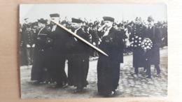 Funéraille Du Grand Duc Guillaume, 1 Mars 1912, Clergé Protestant, Officier Luxembourgeois Et 2 Nobles, Photo - Grand-Ducal Family