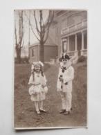 Carte Photo La Louvière Vers 1930 Enfants - Carnaval / Photo Werder - La Louvière