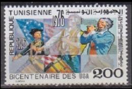 1976Tunisia 895200 Years Of The United States Of America 2,00 € - Tunisia (1956-...)