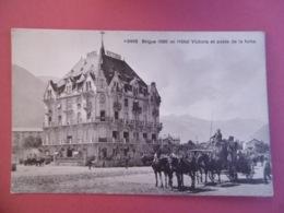 BRIGUE  ( VALAIS ) N ° 8468 Hotel VICTORIA Et  Poste De La FURKA       - BRIG - VS Valais