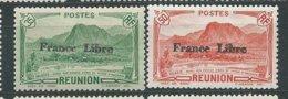 REUNION N° 190+195 ** TB  4 - Unused Stamps
