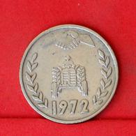 ALGERIA 1 DINAR 1972 -    KM# 104,1 - (Nº31657) - Algeria