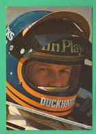 Ronnie Peterson F1 Formula 1 Piloti Pilots Pilotes Auto Cars GP - Grand Prix / F1