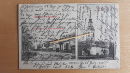 Kis-Szántó, Schlesinger Samu üzlete Utcarrészlet, Ref. Templom - Roumanie