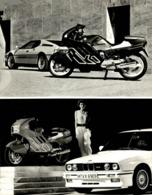 BMW  +-17cm X 23cm  Moto MOTOCROSS MOTORCYCLE Douglas J Jackson Archive Of Motorcycles - Foto