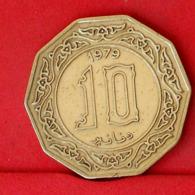 ALGERIA 10 DINAR 1979 -    KM# 110 - (Nº31659) - Algeria
