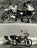 BMW  PARIS-DAKAR  +-17cm X 23cm  Moto MOTOCROSS MOTORCYCLE Douglas J Jackson Archive Of Motorcycles - Foto